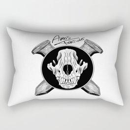 Amos Fortune Logo Rectangular Pillow