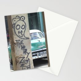 Cuban Streetart - The Happy Therapy Zombie Stationery Cards