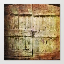 460 Old Barn Door Canvas Print