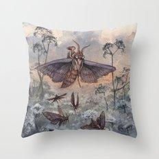 Noctuidae Throw Pillow