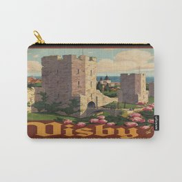 Vintage poster - Visby Carry-All Pouch