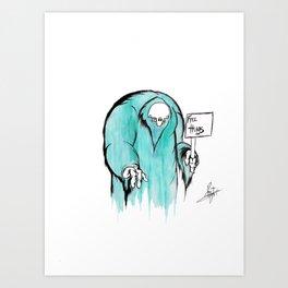 Free Hugs! Art Print