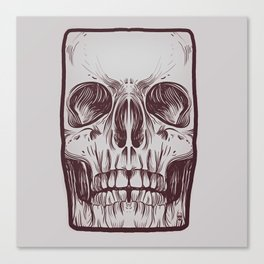Front Skull Canvas Print
