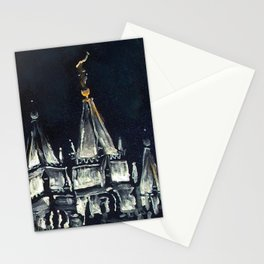 Salt Lake City Temple Tie Stationery Cards