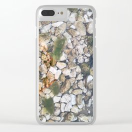 Underwater stones Clear iPhone Case