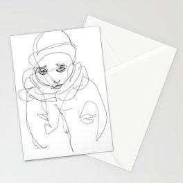 Winter Portrait #1 Stationery Cards