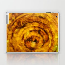 Fall Leaves Long Exposure Motion Abstract Laptop & iPad Skin