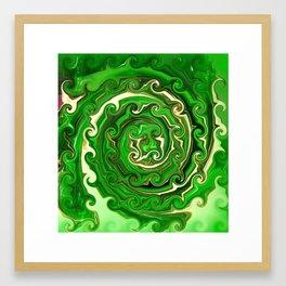 Irish Green Framed Art Print