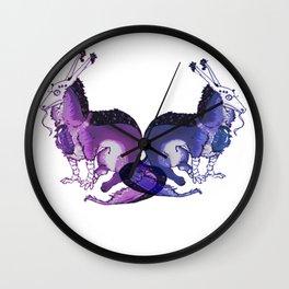 DoubleBellum Wall Clock
