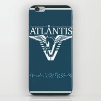 stargate iPhone & iPod Skins featuring Stargate Atlantis by Winter Graphics