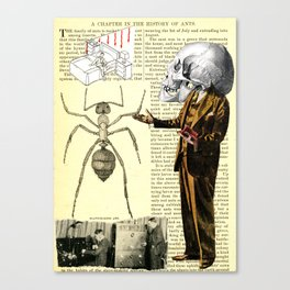 43 Years A Slave  = Bye, Bye Canvas Print