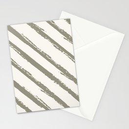 Brush Strokes in Cream Stationery Cards