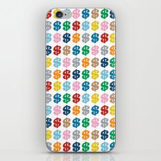 Colourful Money Repeat iPhone & iPod Skin