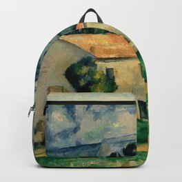 """Paul Cezanne """"House in Provence"""" Backpack"""