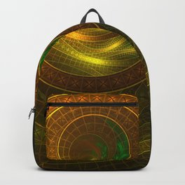 Inside the Boundless Cornucopia of an Endless Fractal Autumn Backpack