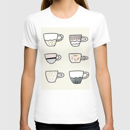 Cups cups cups T-shirt