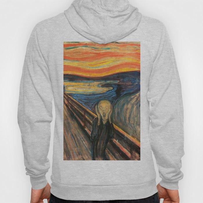The Scream Edvard Munch Restored Hoody