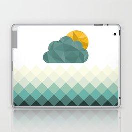 Sea Polygons Laptop & iPad Skin