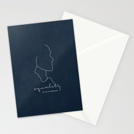 Equality, we are no different Stationery Cards