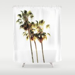 The Palms No. 3 Shower Curtain