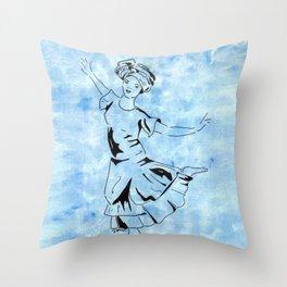 Yemaja  (Goddess dancer) Throw Pillow
