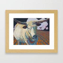 The Golden Calf takes a tour of L.A. Framed Art Print