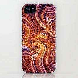 Electric Field Art LIV iPhone Case