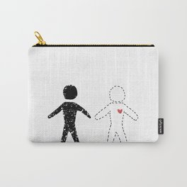 Imaginary Friends + Fictional Characters Carry-All Pouch