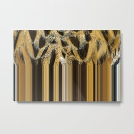 Strip plumage Metal Print
