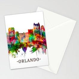 Orlando Florida Skyline Stationery Cards