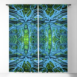 Emerald Electrigrass by Chris Sparks Blackout Curtain