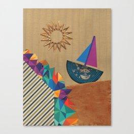 Smooth Sailing Canvas Print