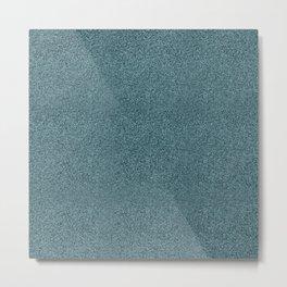 Blue jeans pattern Metal Print