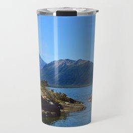 Lanin volcano. Patagonia Travel Mug