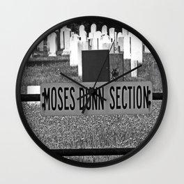 Moses Dunn Wall Clock