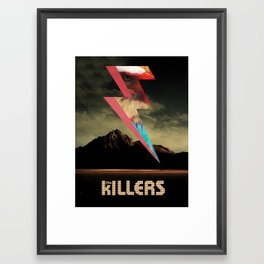 The Killers Eagle Framed Art Print