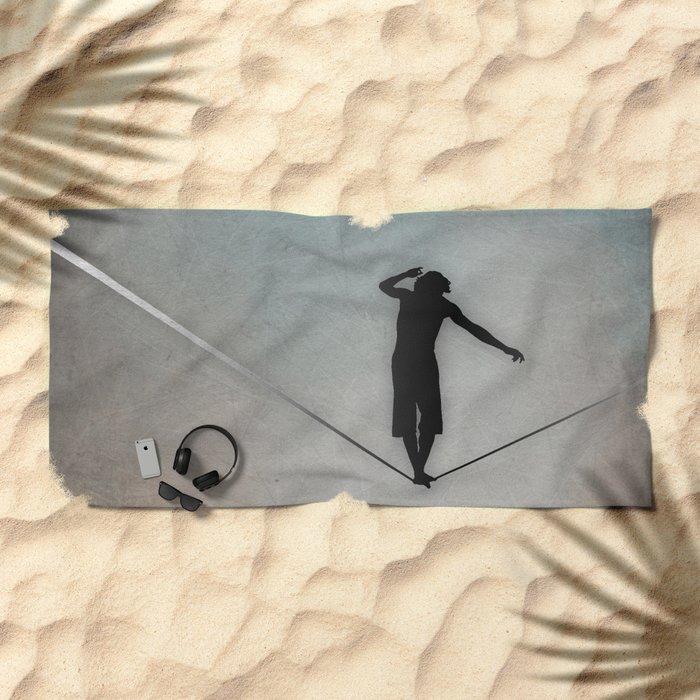 Slackline Beach Towel