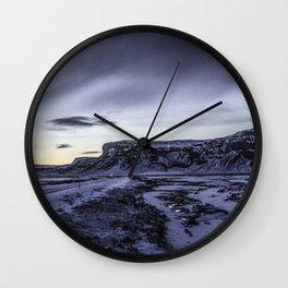 Mountain Reflection 04 Wall Clock