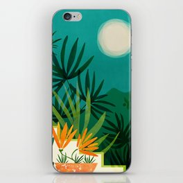 Tropical Moonlight / Tropical Night Series #1 iPhone Skin