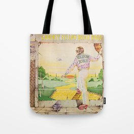 John - Goodbye Yellow Brick Road by Elton Tote Bag