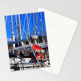 Boats of Lefkada Stationery Cards