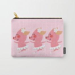 3 Little Piglets Ballerina Carry-All Pouch