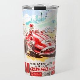 Grand Prix Pau, vintage poster, race poster Travel Mug