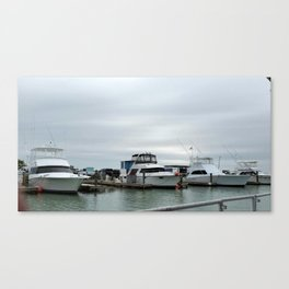 Day at the Harbor Canvas Print