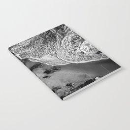 Ocean Waves on Rocks Notebook