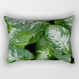 Leaf Patterns Rectangular Pillow