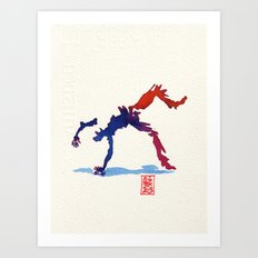 Capoeira 357 Art Print