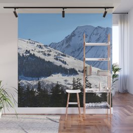 Back-Country Skiing  - I Wall Mural