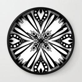Repressed Mage Mandala Wall Clock