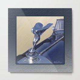 Rolls Royce Phantom II Metal Print